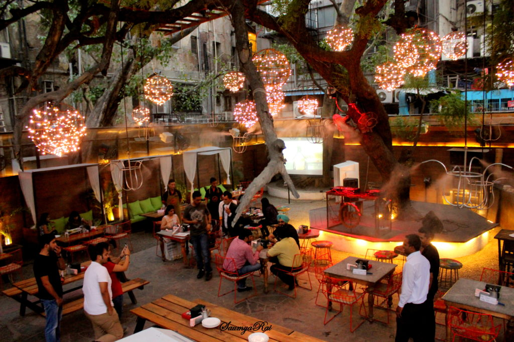 Unplugged Courtyard