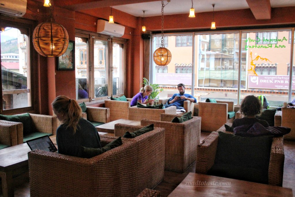 Ambient Cafe has a cozy ambience